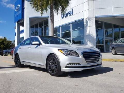 2017 Genesis G80 for sale at DORAL HYUNDAI in Doral FL