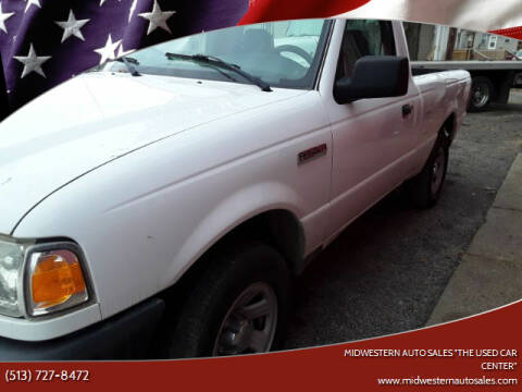 "2008 Ford Ranger for sale at MIDWESTERN AUTO SALES        ""The Used Car Center"" in Middletown OH"