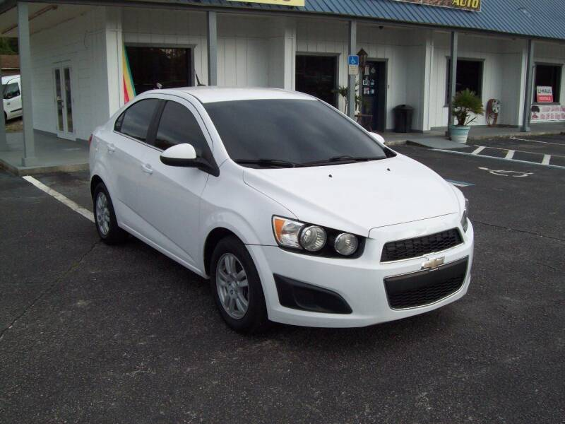 2014 Chevrolet Sonic for sale at LONGSTREET AUTO in St Augustine FL