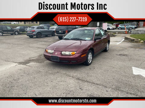 2002 Saturn S-Series for sale at Discount Motors Inc in Nashville TN