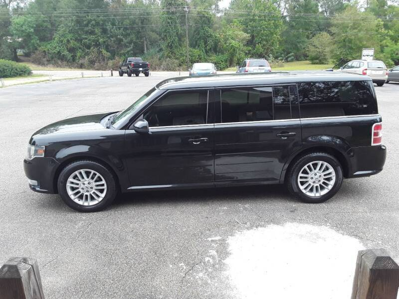 2013 Ford Flex for sale at WALKER MOTORS LLC in Hattiesburg MS