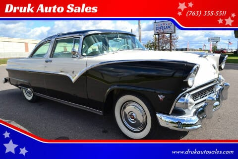 1955 Ford Crown Victoria for sale at Druk Auto Sales in Ramsey MN
