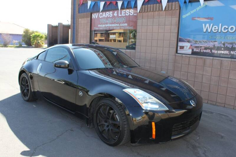 2004 Nissan 350Z for sale at NV Cars 4 Less, Inc. in Las Vegas NV