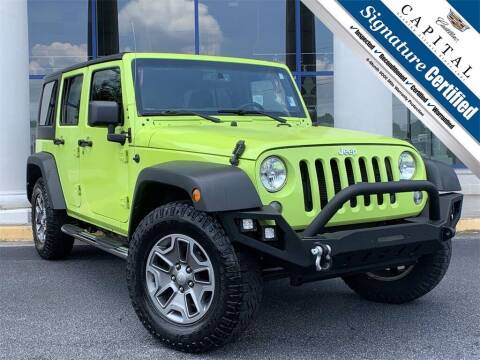 2016 Jeep Wrangler Unlimited for sale at Southern Auto Solutions - Capital Cadillac in Marietta GA