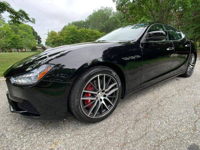 2015 Maserati Ghibli for sale at NEW ENGLAND AUTO MALL in Lowell MA