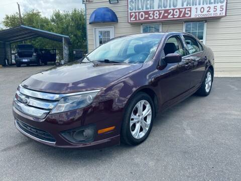 2012 Ford Fusion for sale at Silver Auto Partners in San Antonio TX