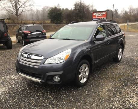 2014 Subaru Outback for sale at Arden Auto Outlet in Arden NC