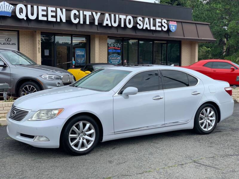 2008 Lexus LS 460 for sale at Queen City Auto Sales in Charlotte NC