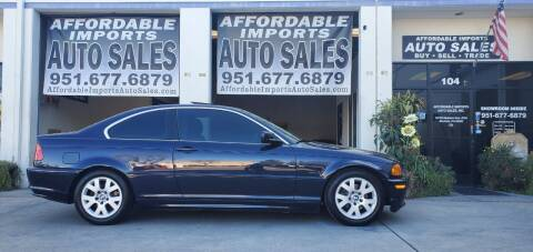 2000 BMW 3 Series for sale at Affordable Imports Auto Sales in Murrieta CA