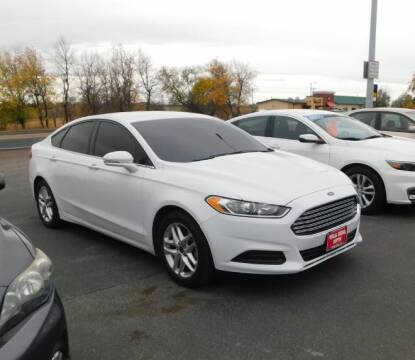 2016 Ford Fusion for sale at Will Deal Auto & Rv Sales in Great Falls MT
