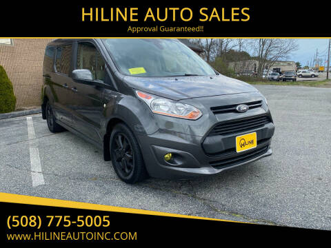 2016 Ford Transit Connect Wagon for sale at HILINE AUTO SALES in Hyannis MA