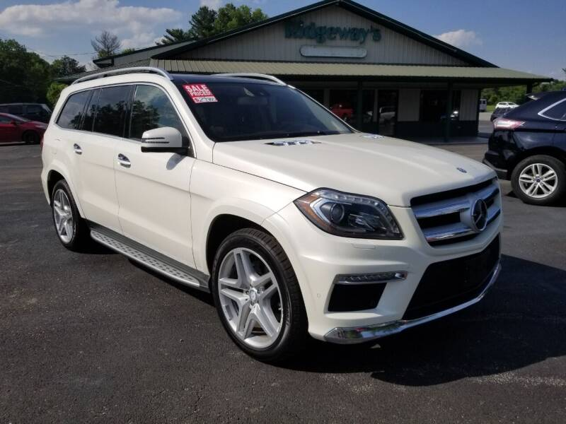2013 Mercedes-Benz GL-Class for sale at Ridgeway's Auto Sales in West Frankfort IL