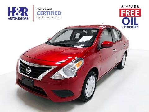 2018 Nissan Versa for sale at H&R Auto Motors in San Antonio TX
