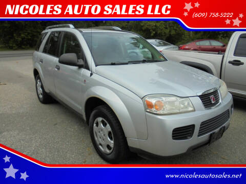 2006 Saturn Vue for sale at NICOLES AUTO SALES LLC in Cream Ridge NJ