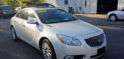 2012 Buick Regal for sale at Superior Motors in Mount Morris MI
