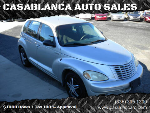 2005 Chrysler PT Cruiser for sale at CASABLANCA AUTO SALES in Greensboro NC