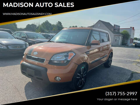 2010 Kia Soul for sale at MADISON AUTO SALES in Indianapolis IN