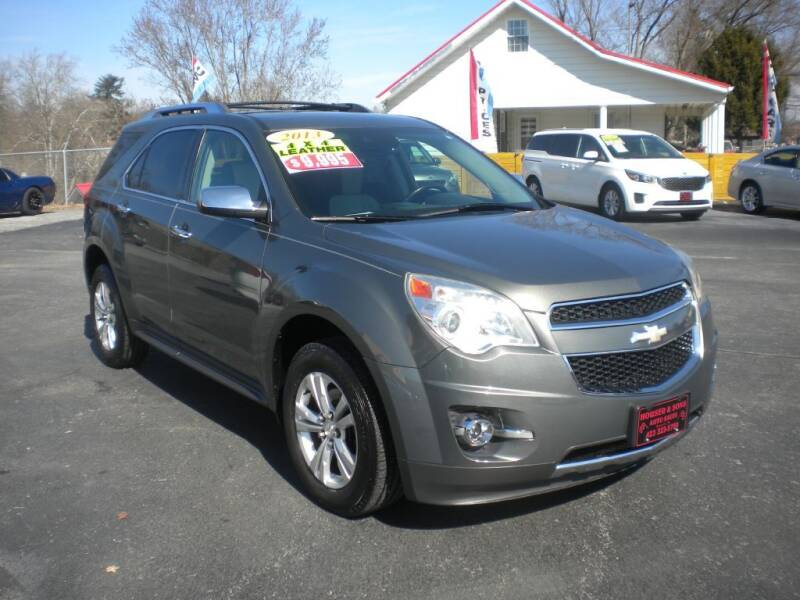 2013 Chevrolet Equinox for sale at Houser & Son Auto Sales in Blountville TN