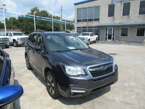 2017 Subaru Forester for sale at Lone Star Auto Center in Spring TX