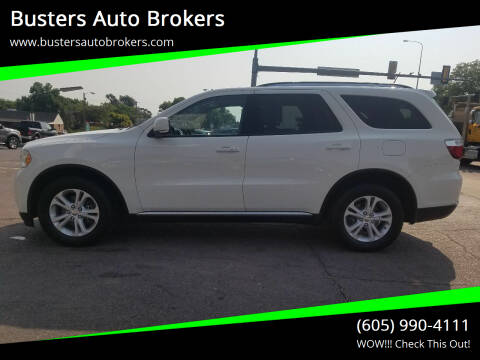 2012 Dodge Durango for sale at Busters Auto Brokers in Mitchell SD