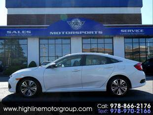 2017 Honda Civic for sale at Highline Group Motorsports in Lowell MA