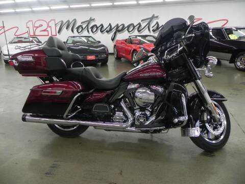 2014 Harley-Davidson Ultra for sale at 121 Motorsports in Mt. Zion IL
