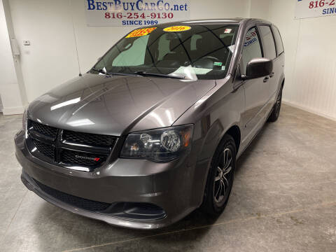2016 Dodge Grand Caravan for sale at Best Buy Car Co in Independence MO