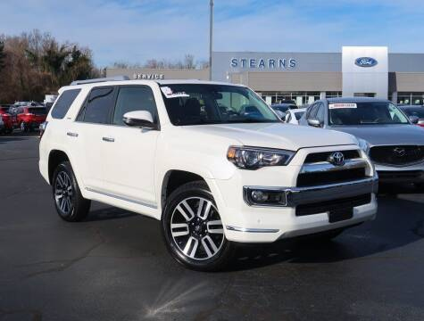 2018 Toyota 4Runner for sale at Stearns Ford in Burlington NC