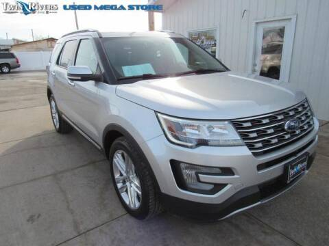 2017 Ford Explorer for sale at TWIN RIVERS CHRYSLER JEEP DODGE RAM in Beatrice NE