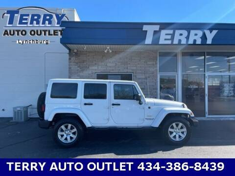2014 Jeep Wrangler Unlimited for sale at Terry Auto Outlet in Lynchburg VA