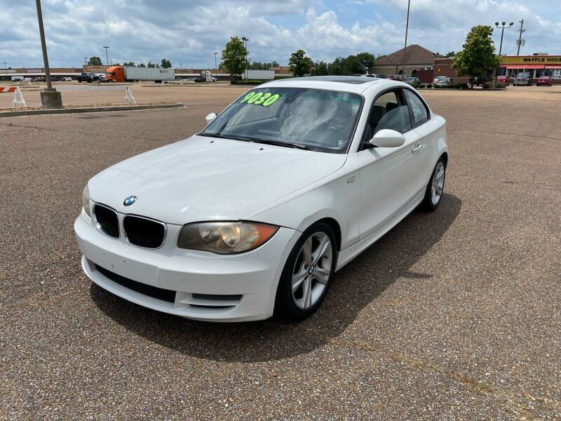 2008 BMW 1 Series for sale at The Auto Toy Store in Robinsonville MS