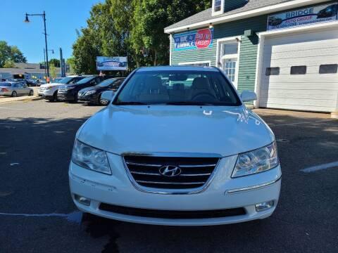 2009 Hyundai Sonata for sale at Bridge Auto Group Corp in Salem MA
