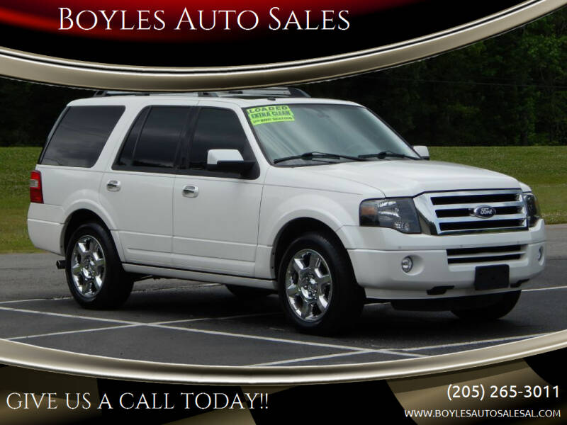 2013 Ford Expedition for sale at Boyles Auto Sales in Jasper AL