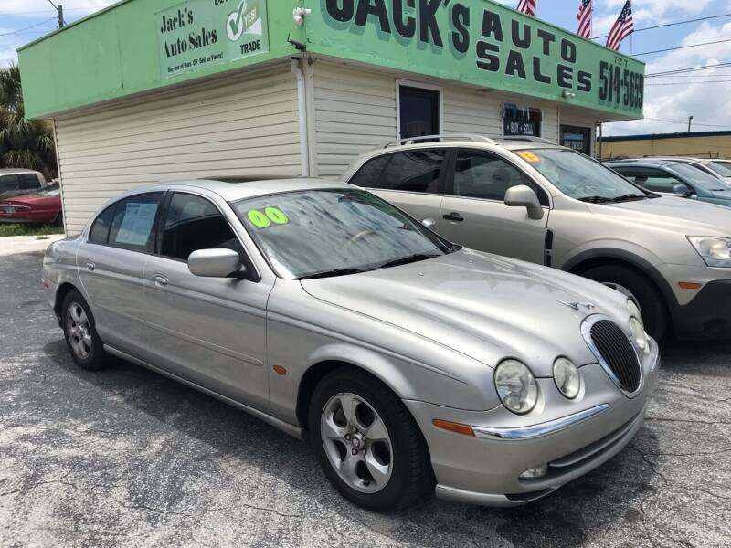 2000 Jaguar S-Type for sale at Jack's Auto Sales in Port Richey FL