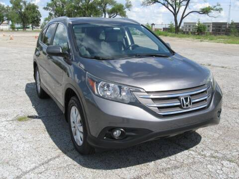 2014 Honda CR-V for sale at Burhill Leasing Corp. in Dayton OH