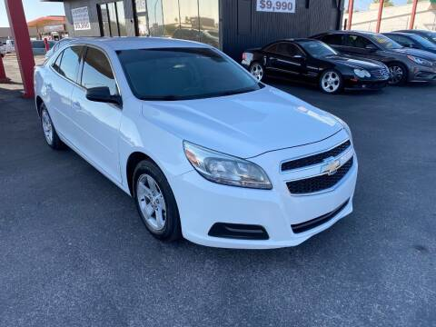 2013 Chevrolet Malibu for sale at JQ Motorsports East in Tucson AZ