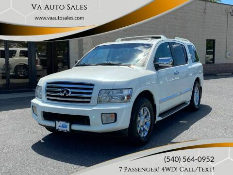 2007 Infiniti QX56 for sale at Va Auto Sales in Harrisonburg VA