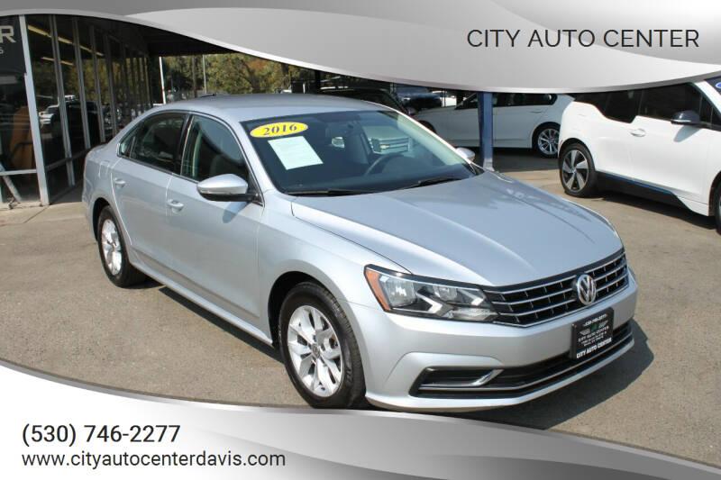 2016 Volkswagen Passat for sale at City Auto Center in Davis CA