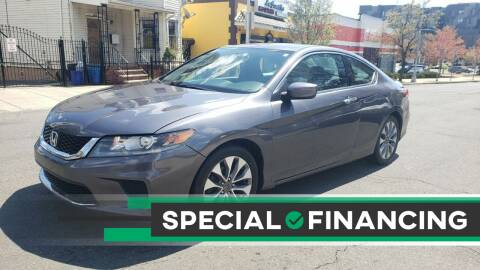 2015 Honda Accord for sale at JOANKA AUTO SALES in Newark NJ