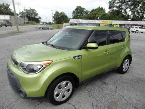 2015 Kia Soul for sale at HAPPY TRAILS AUTO SALES LLC in Taylors SC