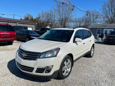 2014 Chevrolet Traverse for sale at Davidson Auto Deals in Syracuse IN