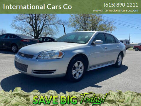 2014 Chevrolet Impala Limited for sale at International Cars Co in Murfreesboro TN