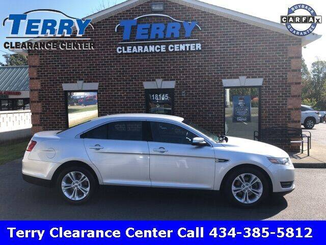 2016 Ford Taurus for sale at Terry Clearance Center in Lynchburg VA
