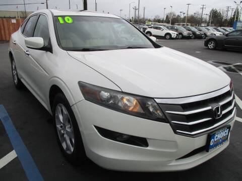 2010 Honda Accord Crosstour for sale at Choice Auto & Truck in Sacramento CA