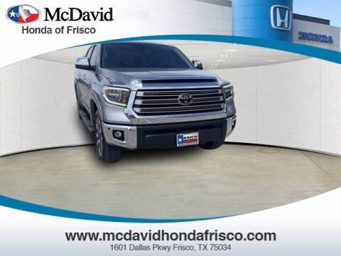 2019 Toyota Tundra for sale at DAVID McDAVID HONDA OF IRVING in Irving TX