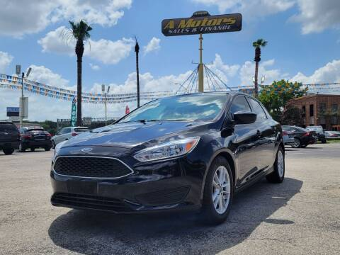 2018 Ford Focus for sale at A MOTORS SALES AND FINANCE in San Antonio TX