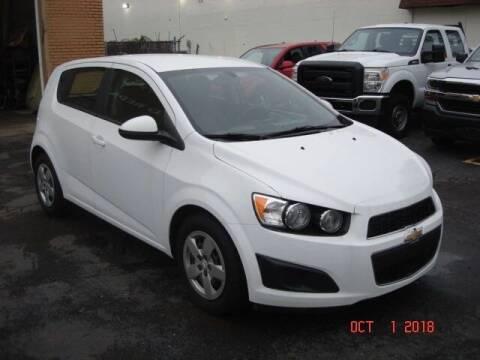 2014 Chevrolet Sonic for sale at Marx Auto Sales in Livonia MI