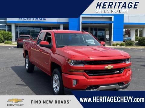 2016 Chevrolet Silverado 1500 for sale at HERITAGE CHEVROLET INC in Creek MI