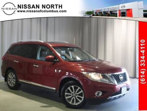 2015 Nissan Pathfinder for sale at Auto Center of Columbus in Columbus OH