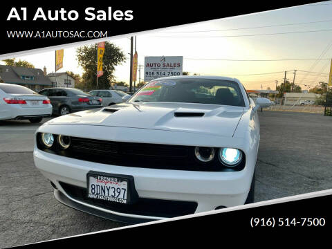 2018 Dodge Challenger for sale at A1 Auto Sales in Sacramento CA